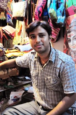 服飾店老闆Rajesh