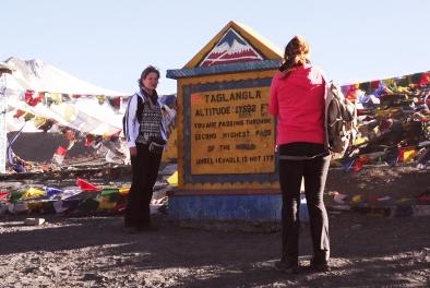 5328公尺高的Taglang la