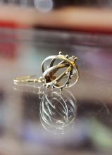 手工耳環,我的作品之一。送人了