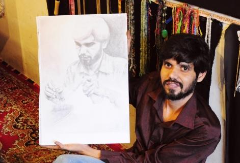Pyare與他的肖像