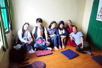 藏族學生們