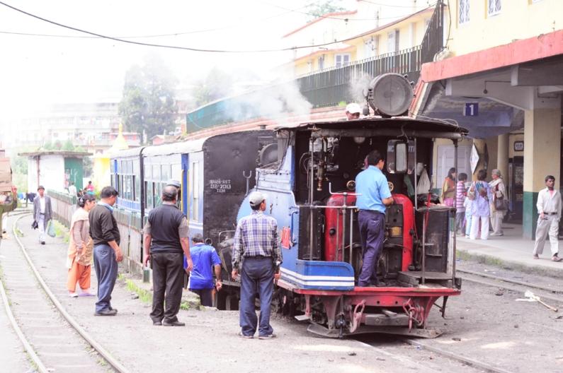 大吉嶺最著名的蒸汽火車