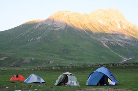 夜宿的營帳