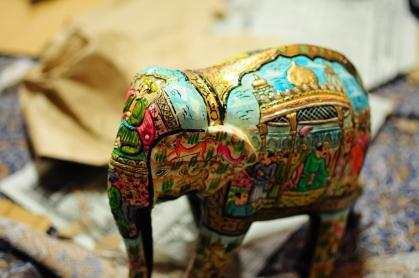 要完成像這樣一隻大象,耗時一周