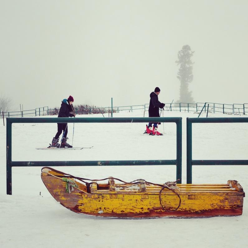 冬季滑雪勝地