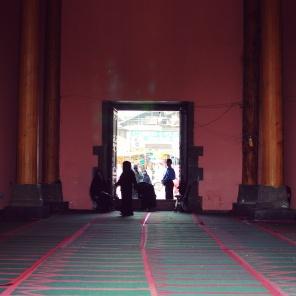 Jamia Masjid,內部禮拜堂