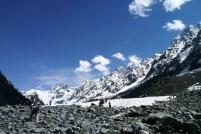 5月的Tajwas冰河