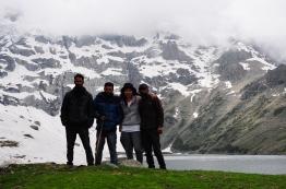 從一邊上到小Gangabal湖-Nundkol