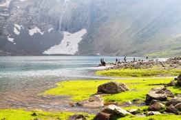 Nundkol湖最佳釣魚地點之一