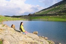 瑞寧湖畔冥想。2015年7月上旬