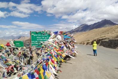 Fotu La,海拔4,108公尺高,本路段公路至高點
