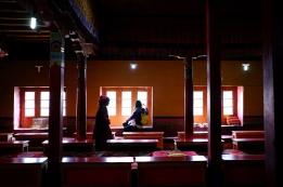 禱告廳。2017年10月上旬