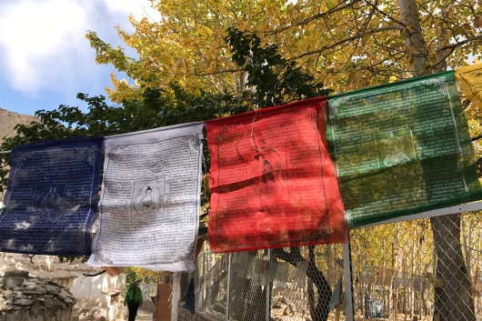 五色風馬旗各代表不同的意義
